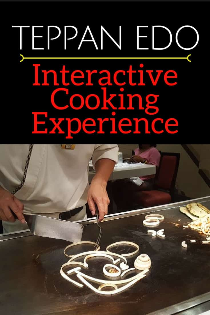 Inside Teppan Edo Interactive Dinner at Epcot