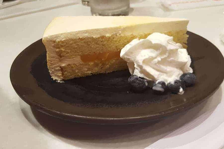 Teppan Edo Mango Mousse Cake