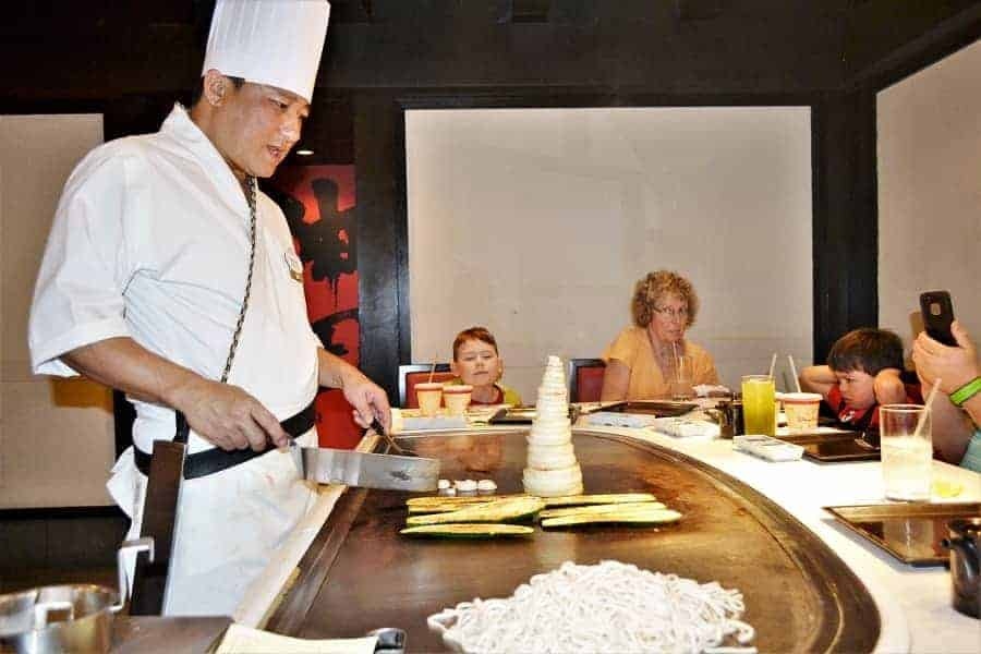 Teppan Edo Restaurant at Disney