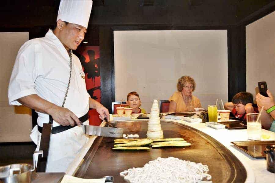 Teppan Edo Restaurant at Disney