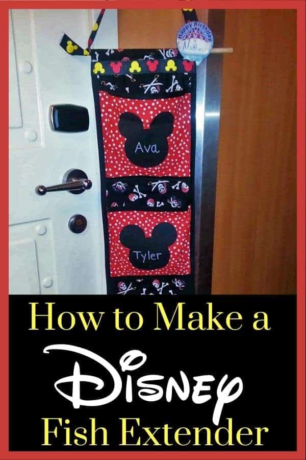 How to Make a Disney Cruise Fish Extender (Tutorial)