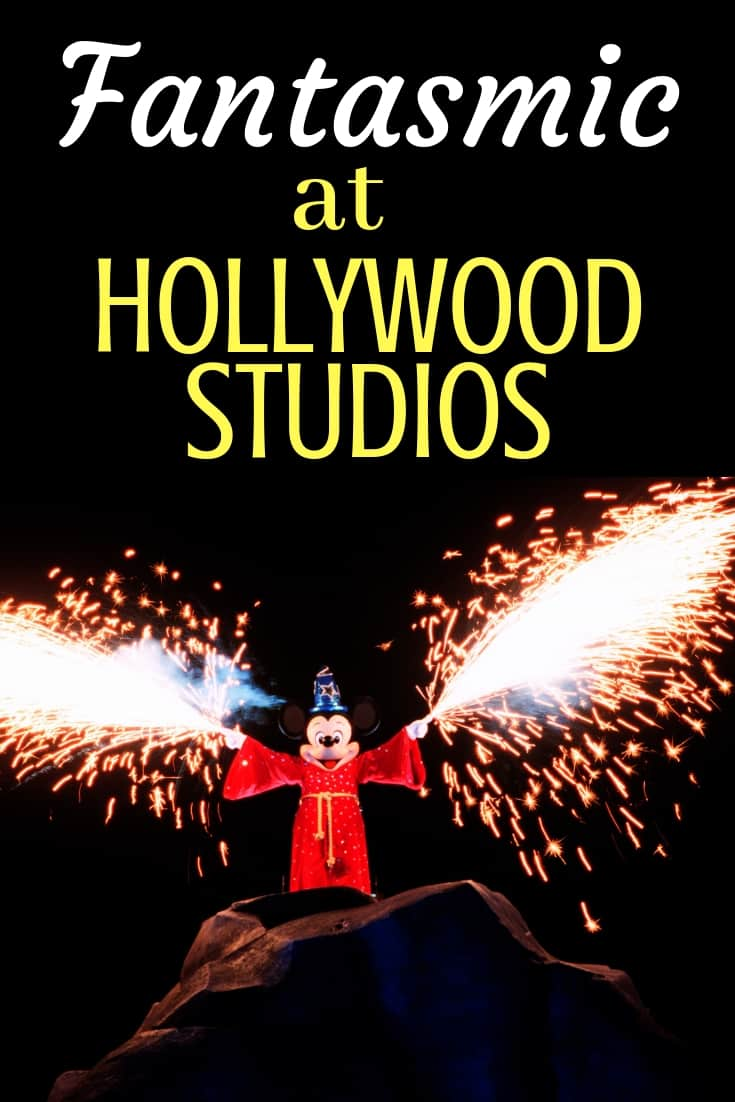 Fantasmic at Hollywood Studios