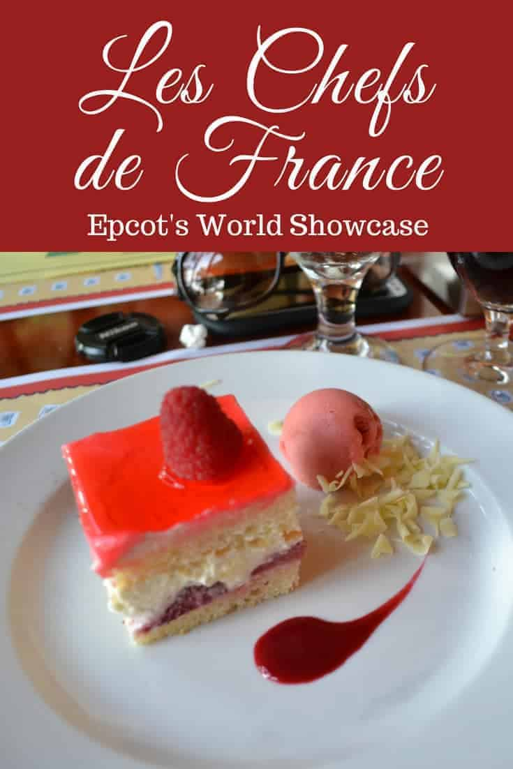 Dining at Les Chefs de France: Epcot French Restaurant