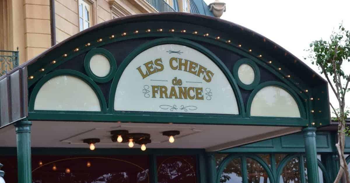Les Chefs de France in Epcot