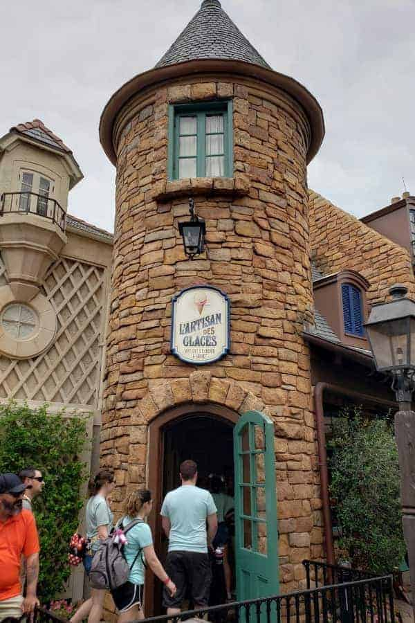 Le Artisan Glaces in Epcot