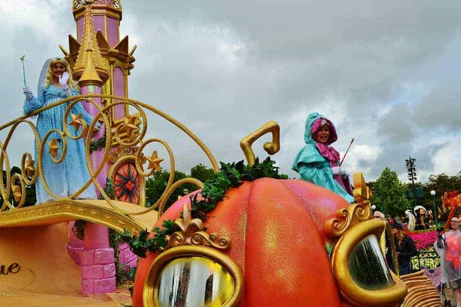 Disneyland Paris Parade Pumpkin Carriage
