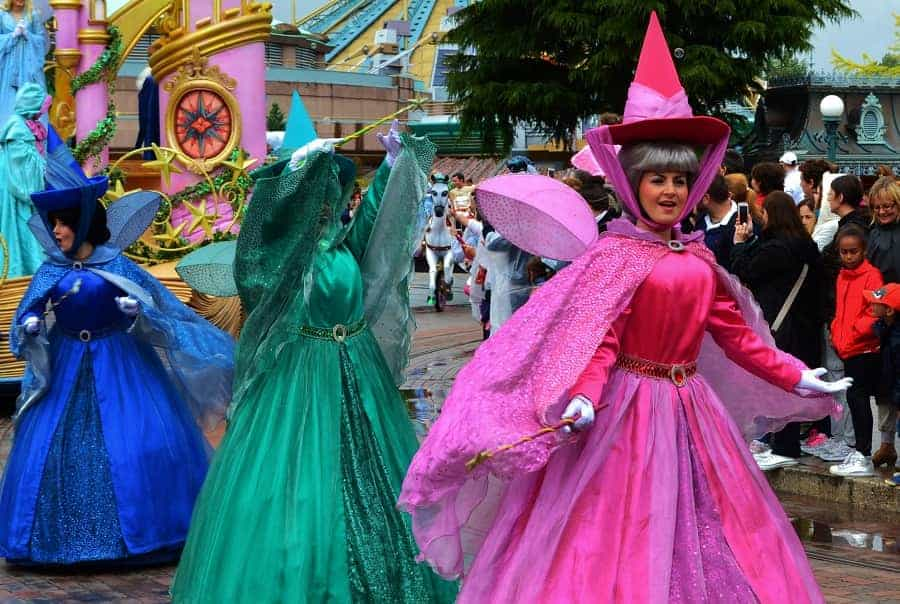 Disneyland Paris Parade Fairies