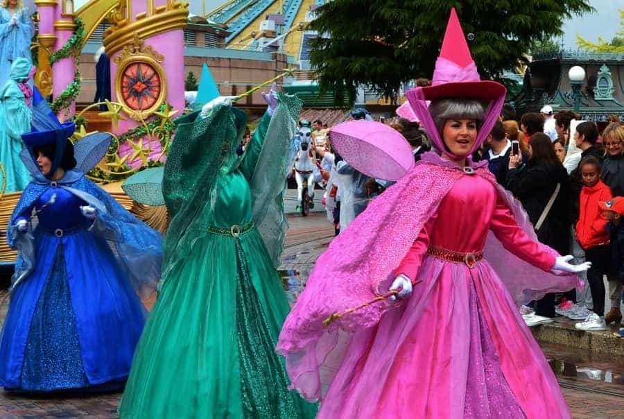 Disneyland Paris Parade Fairies