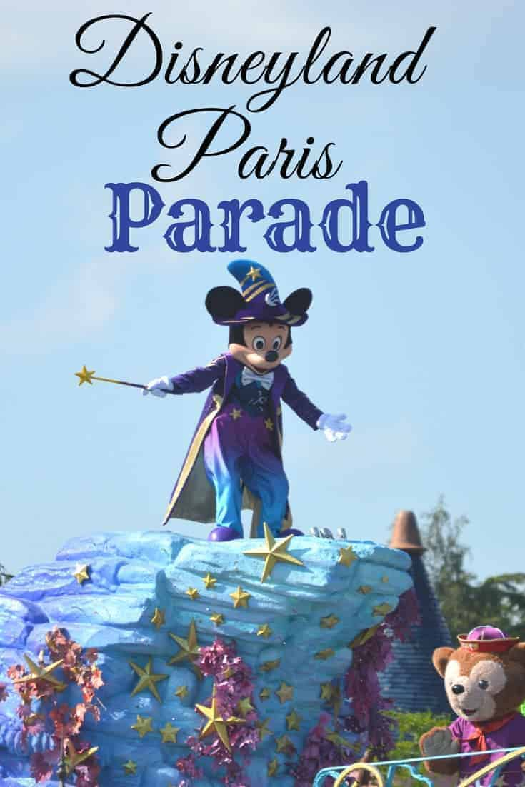 Disneyland Paris Parade is not to be missed
