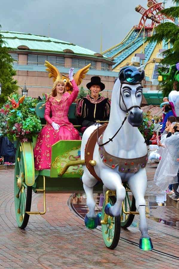 Sleeping Beauty Float in Disneyland Paris Parade