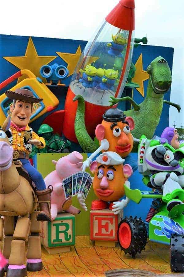 Toy Story Float in Disneyland Paris Parade