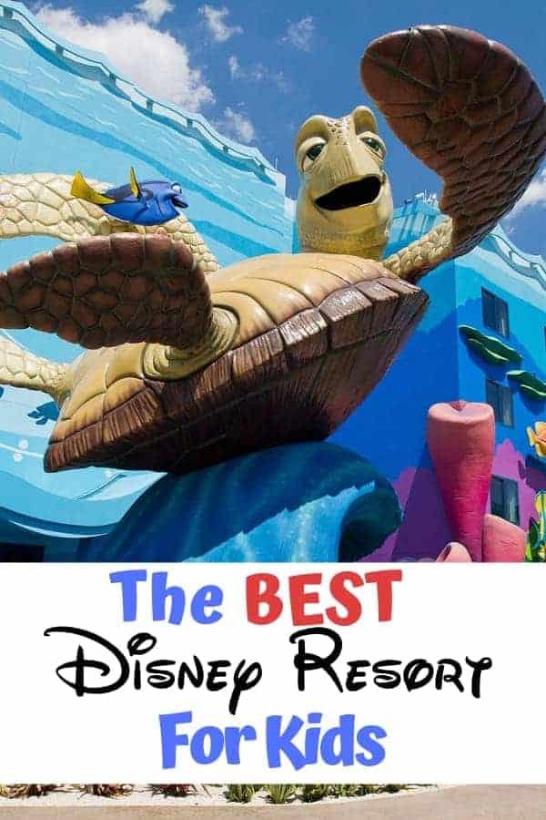 The best Disney Resort for Kids
