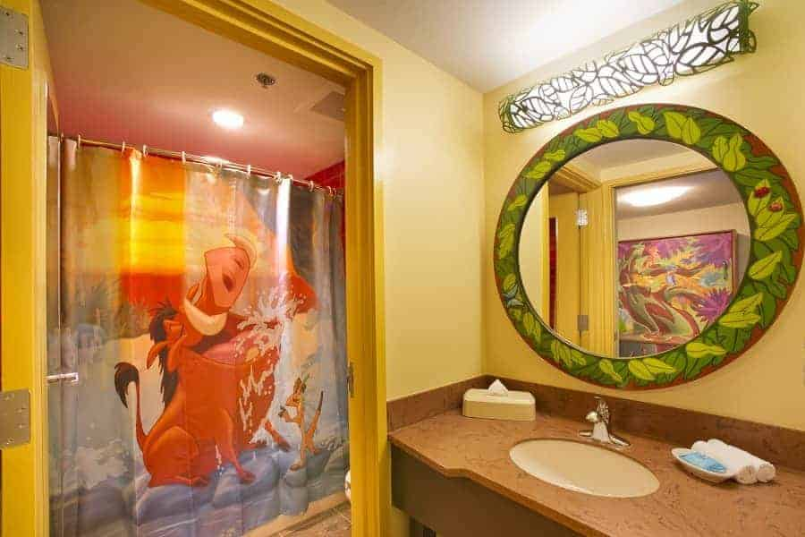 Lion King Room Bathrooms