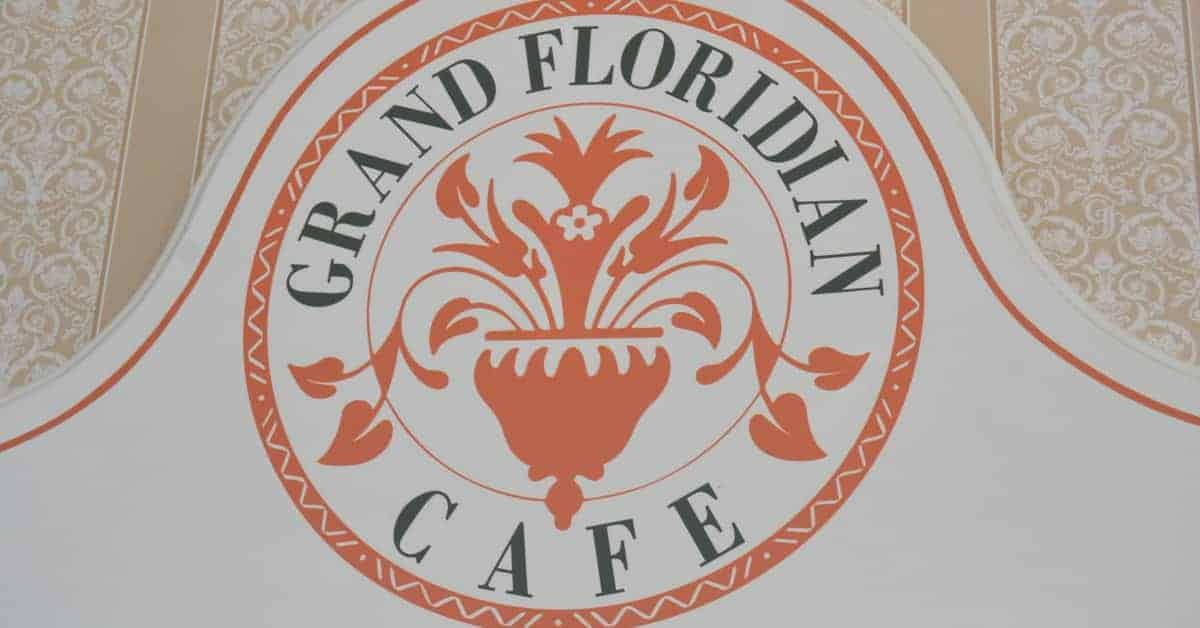 Grand Floridian Cafe in Disney World