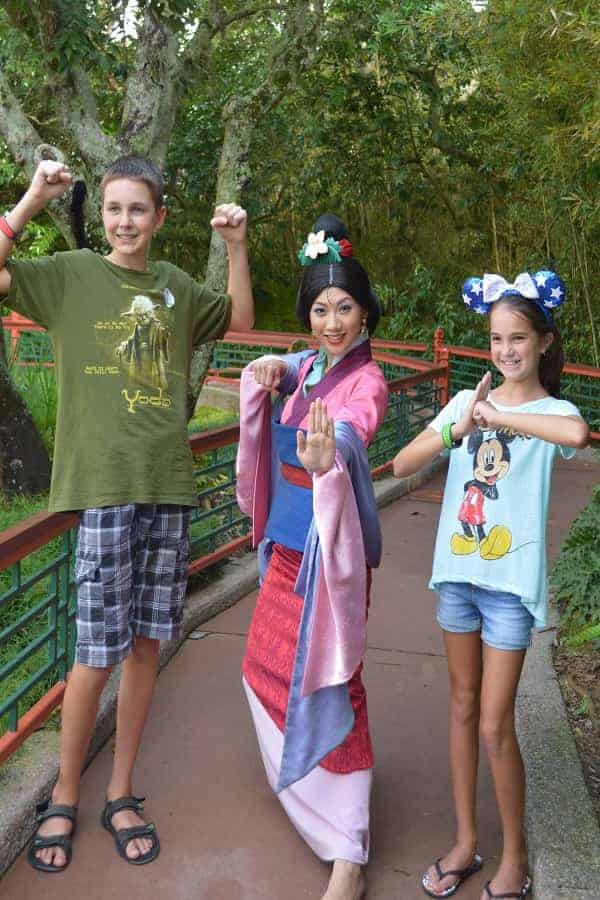 Where to Meet Mulan at Disney World