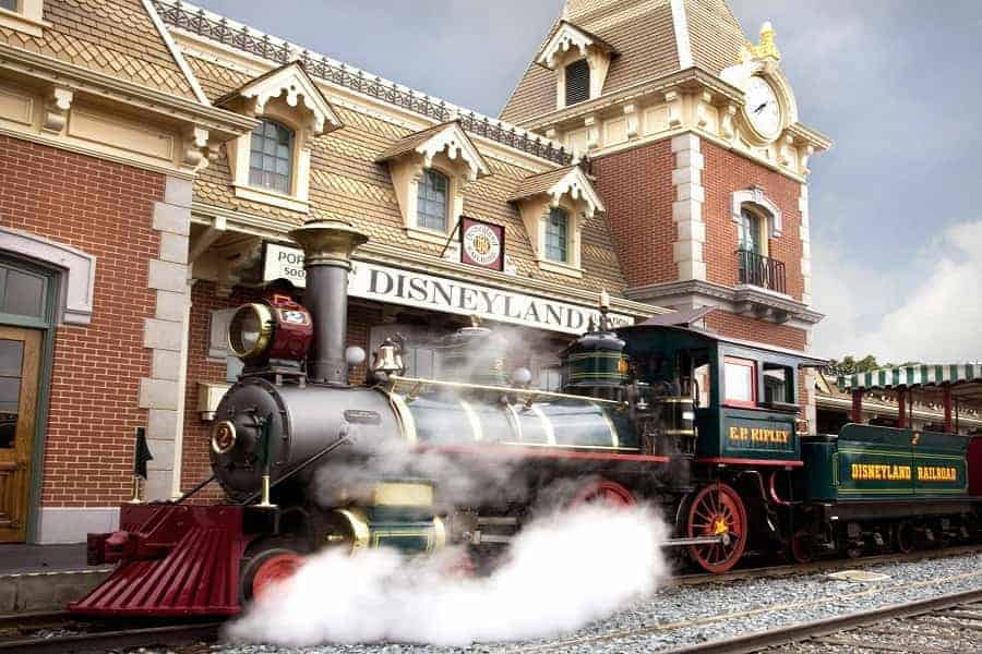 Disneyland Railroad Hidden Gem