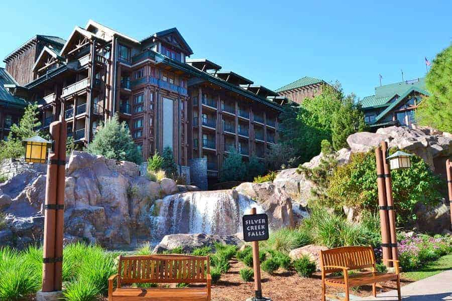 Waterfall at Wilderness Lodge