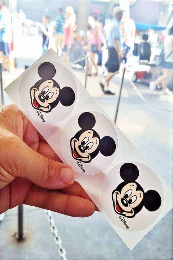 FREE Mickey Mouse Stickers at Disney
