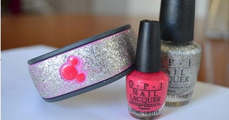 Decoratings MagicBands with Nail Polish