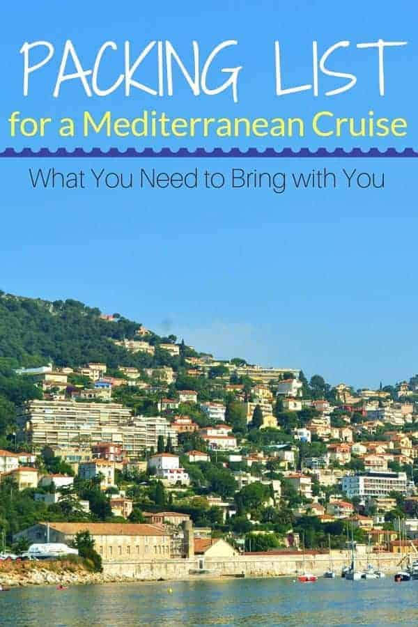 The Best Packing List for a Mediterranean Cruise