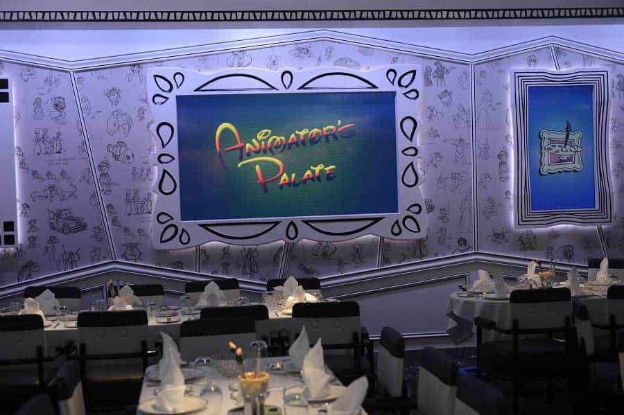 Animator's Palace on Disney Magic