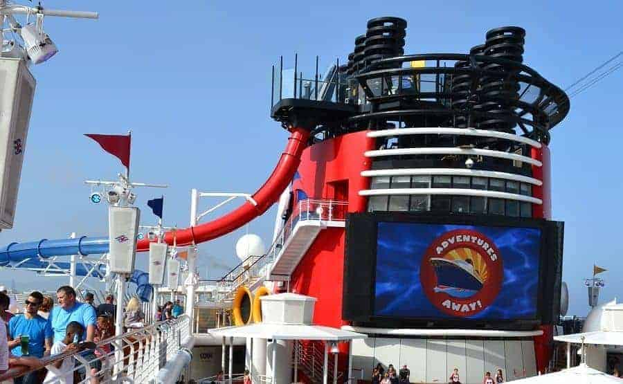 Aquadunk Slide on Disney Magic