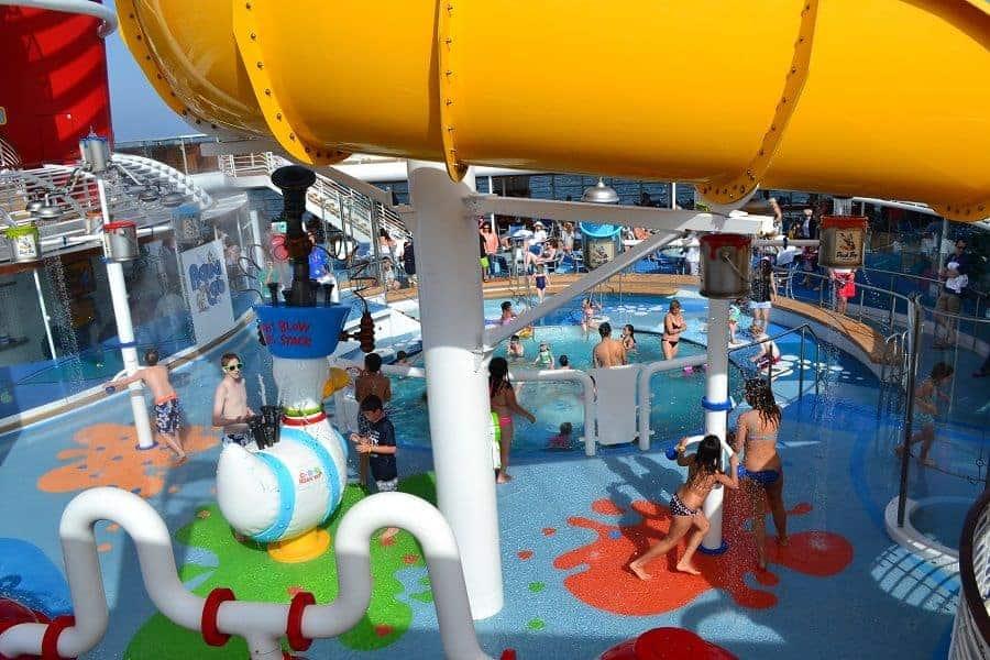 Aqualab Splash Zone on Disney Magic