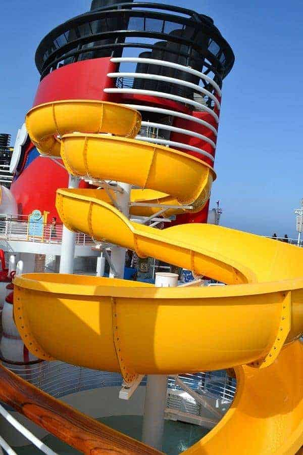 Twist Slide on Disney Magic