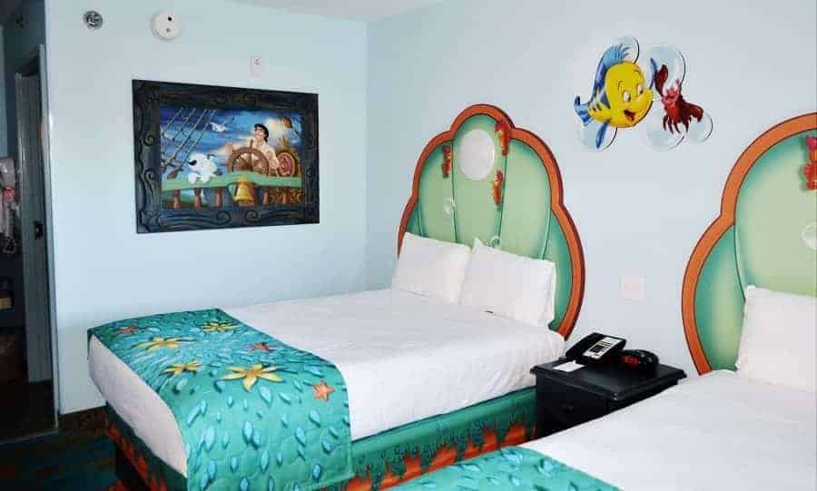 Little Mermaid Room Clamshell Beds