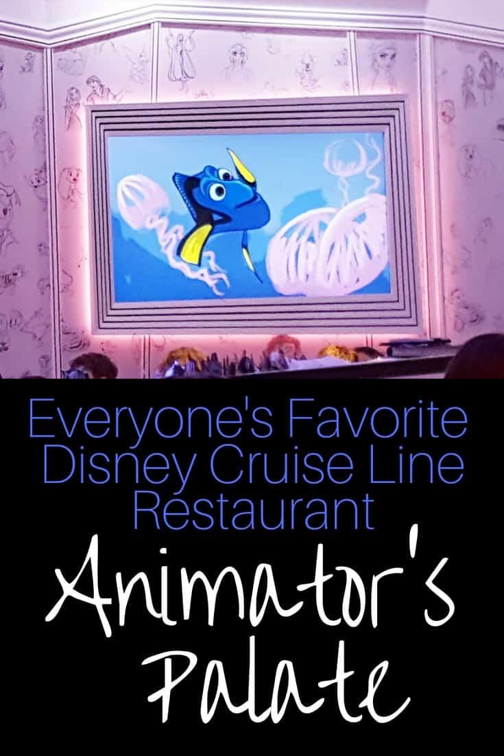 Animator's Palate on Disney Cruise Line