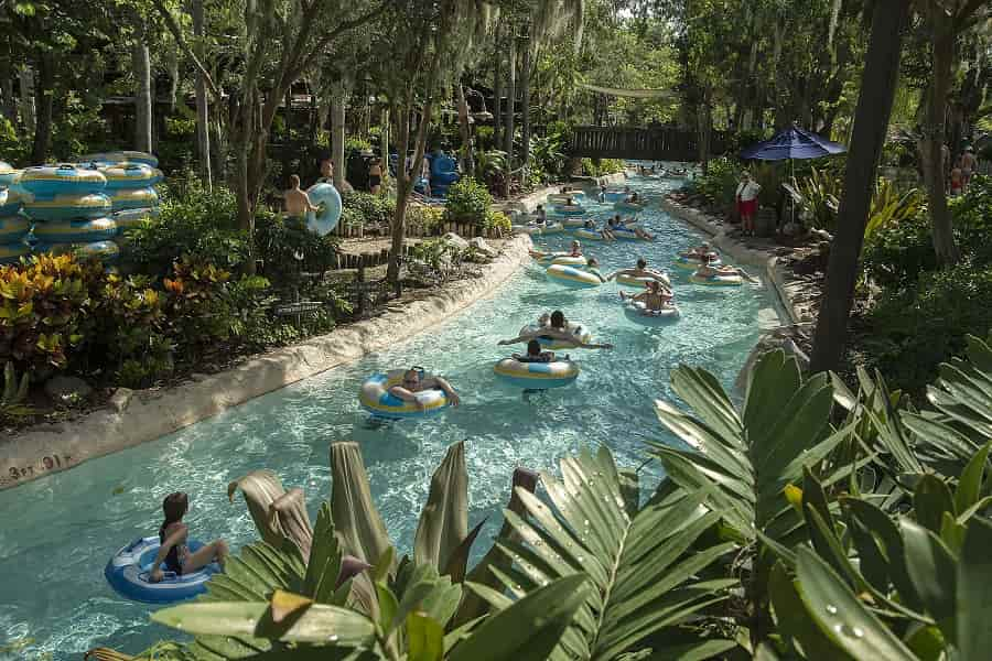 Castaway Creek at Typhoon Lagoon