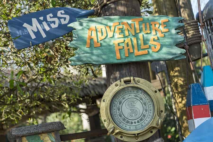 Miss Adventure Falls at Typhoon Lagoon