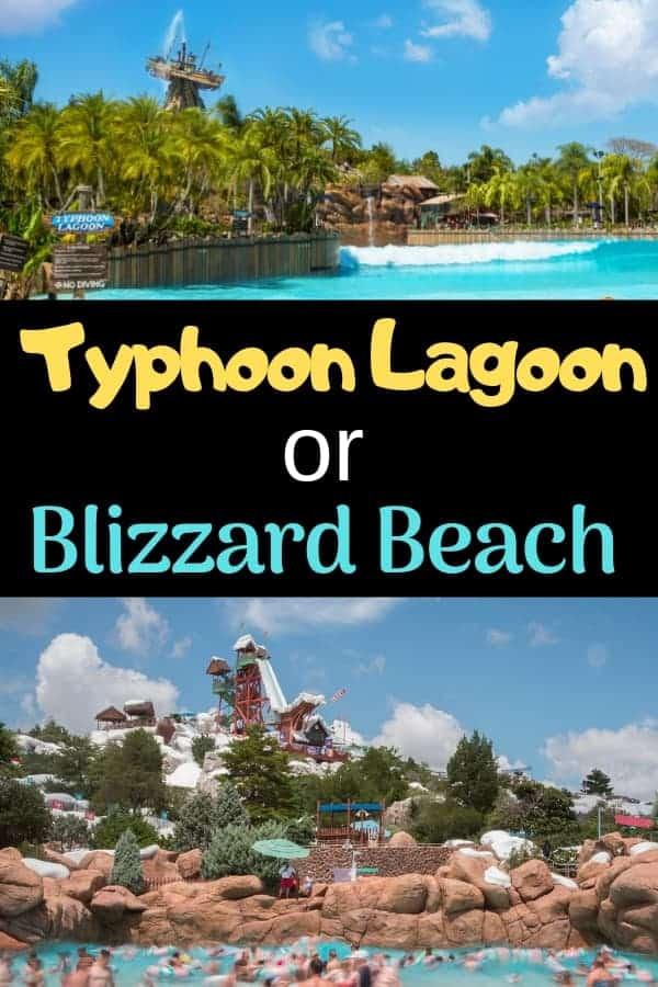Choosing Typhoon Lagoon or Blizzard Beach Water Park