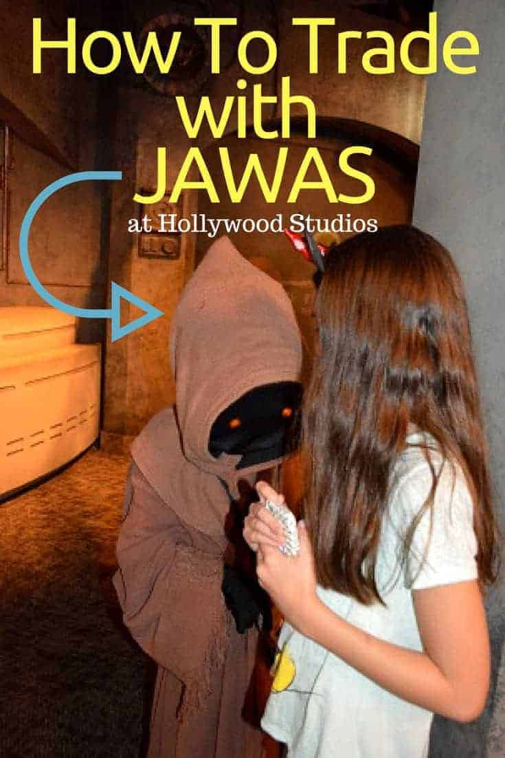 How to trade with Jawas at Hollywood Studios