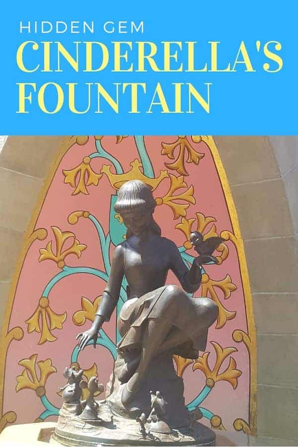 Cinderella Fountain Hidden Gem at Magic Kingdom