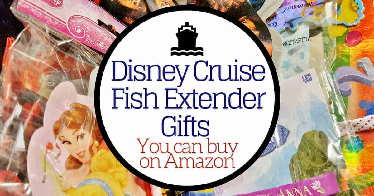 Disney cruise fish extender gifts you can get on amazon for Fish extender ideas