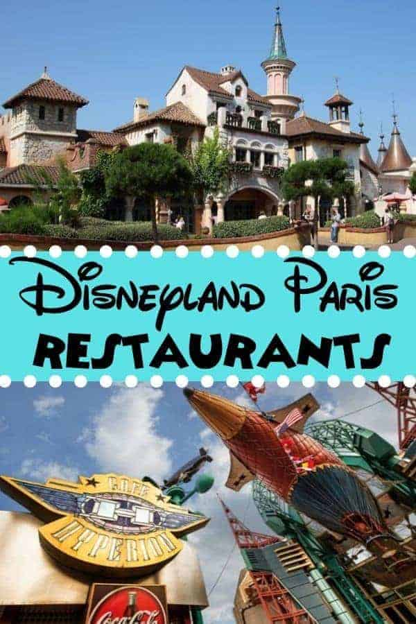 Disneyland Paris Restaurants to Check Out