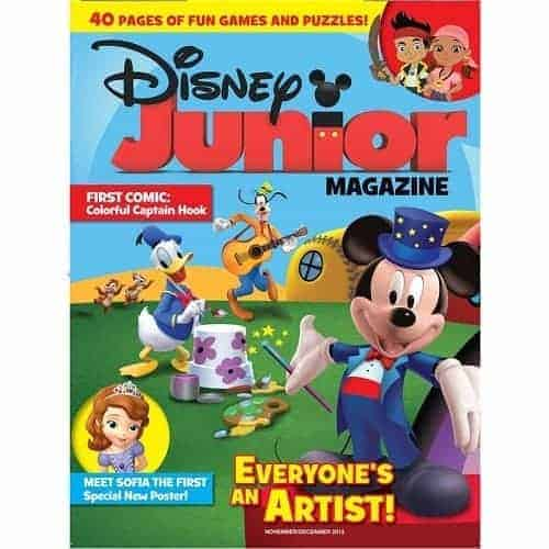 Disney Junior Magazine Deal