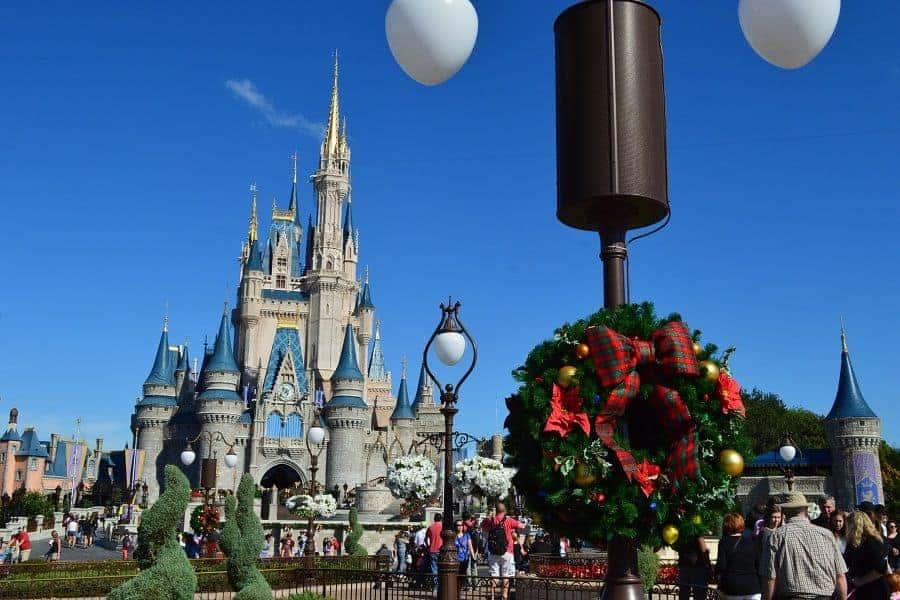 Magic Kingdom Christmas Decorations