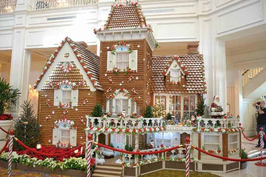 Gingerbread House at Disney's Grand Floridian