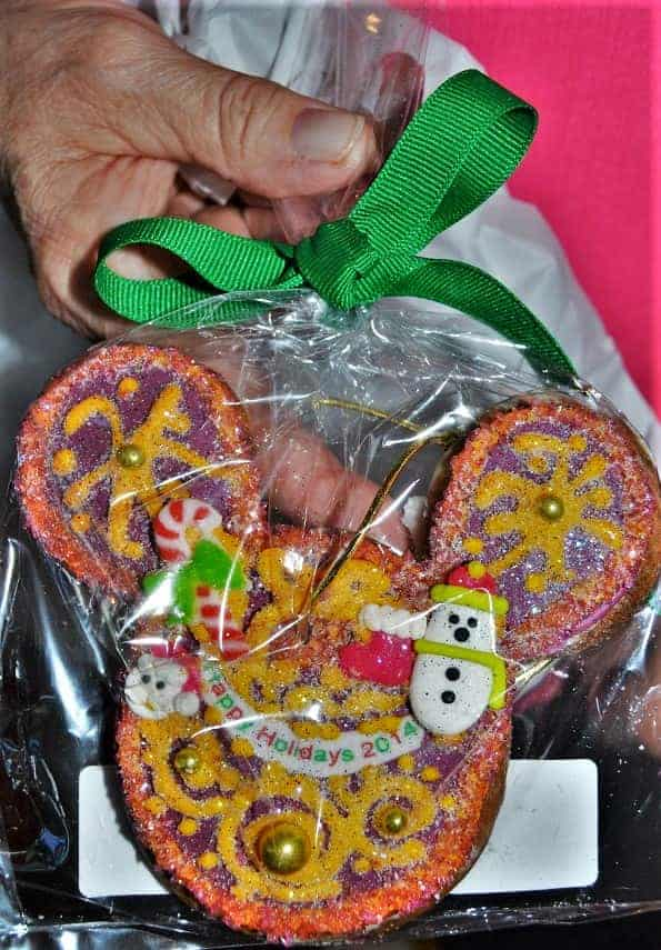 Mickey Mouse Gingerbread Ornament