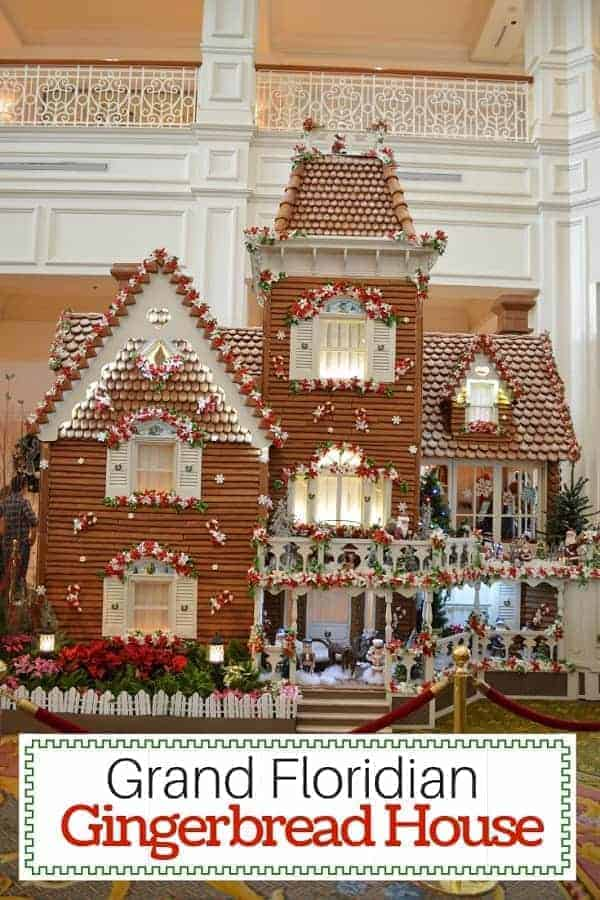 Take a look at the Grand Floridian Gingerbread house