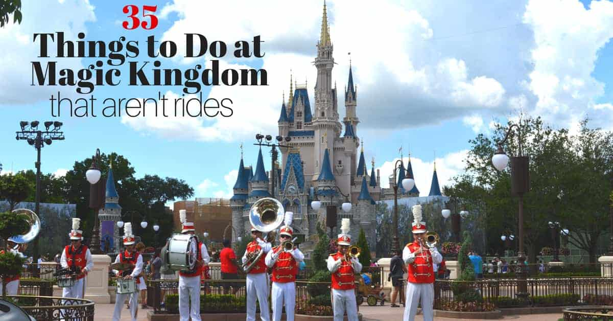 Non-Rides at Magic Kingdom Park