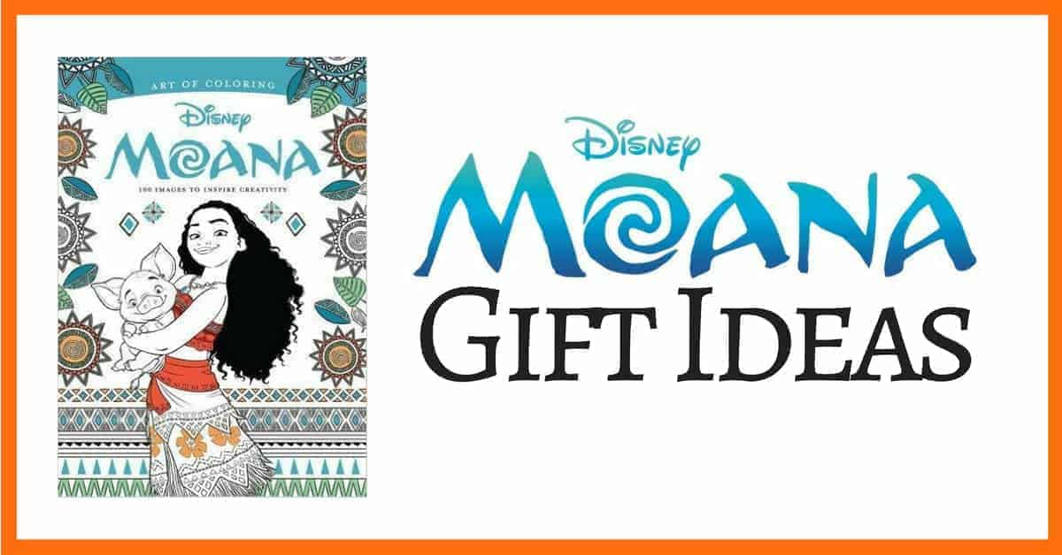 Great gift ideas for Moana fans