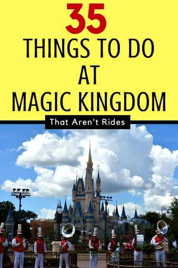 35 Things to Do at Magic Kingdom that aren't rides