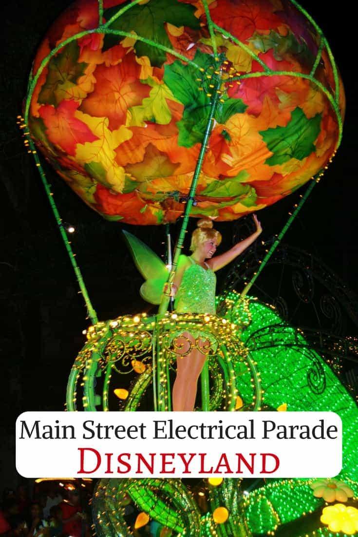 Main Street Electrical Parade in Disneyland