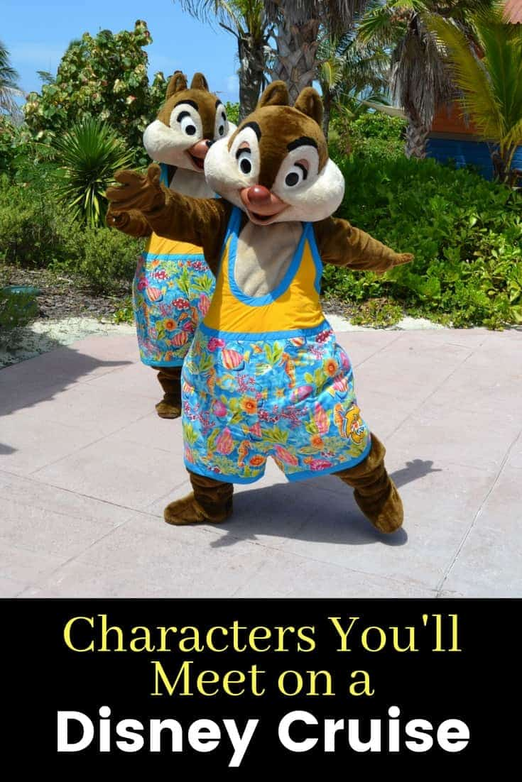 Disney Cruise Characters to Meet & Greet on the Ship
