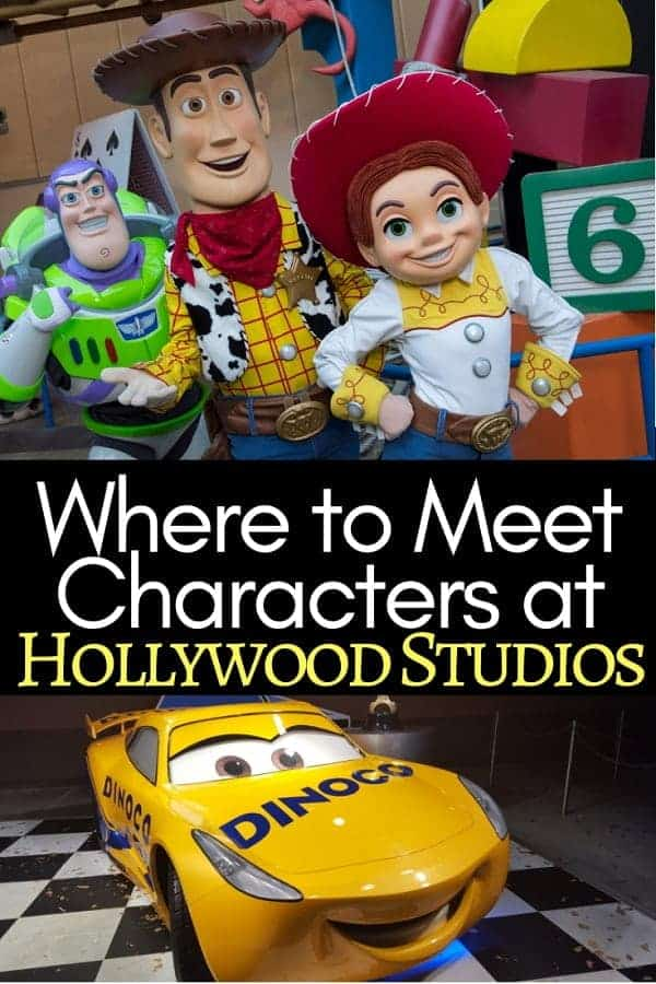 Where to Find Disney Characters at Hollywood Studios
