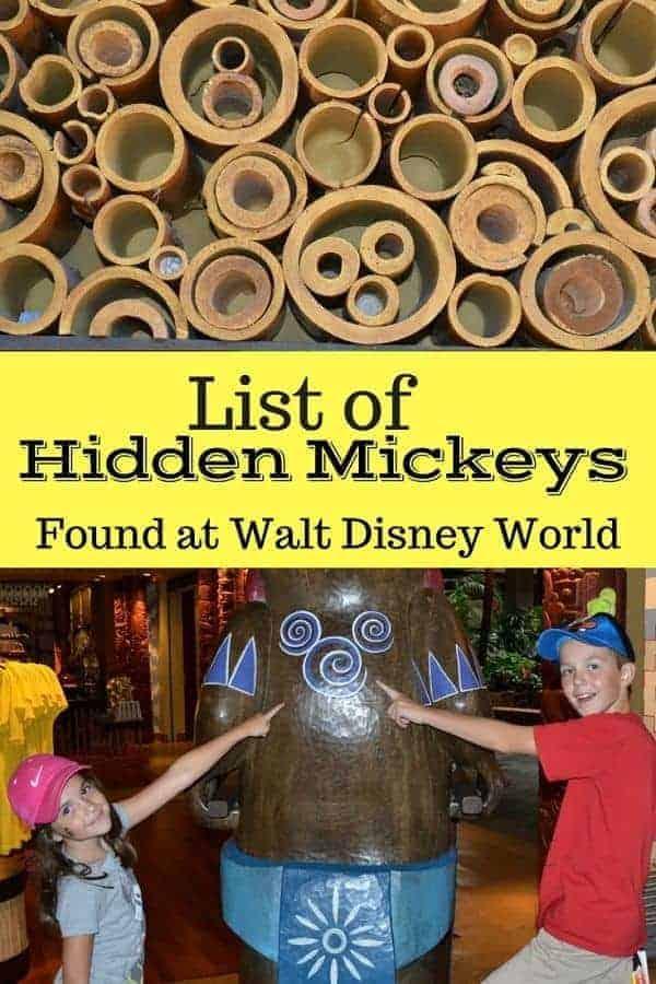 List of Hidden Mickeys in Disney World