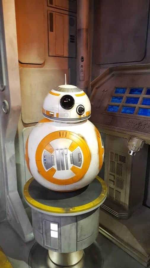 Meet BB8 at Star Wars Launch Bay